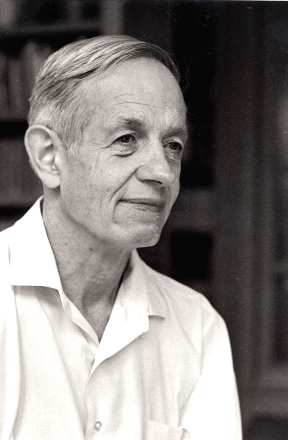 John Forbes Nash, Jr., the schizophrenic mathematician who won a Nobel Prize for economics and whose life story was made into the Academy Award-nominated film 'A Beautiful Mind' is shown February 20, 2002 from a 1994 photo in Princeton, New Jersey. (Credit Robert P. Matthews/Princeton University/Getty Images)