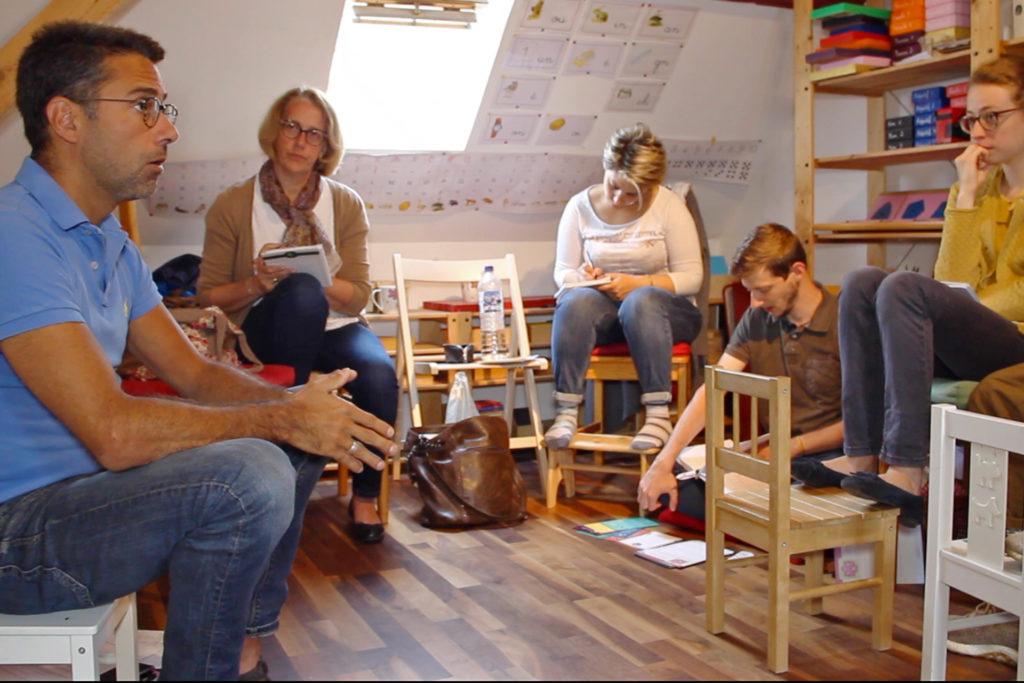 Formations adultes à la pédagogie de la méthode Montessori