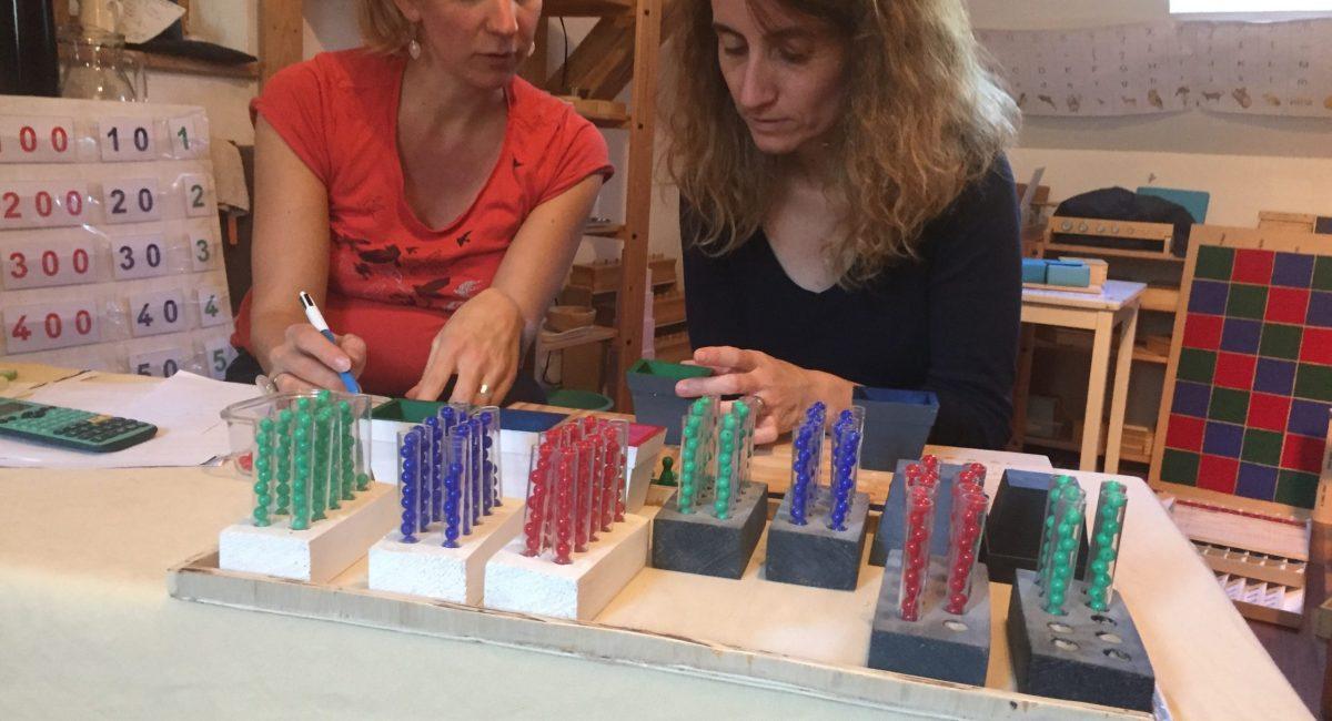 Formation Montessori multiplication En Terre d'Enfance