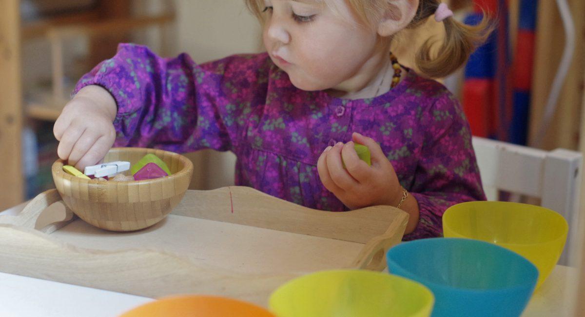 Atelier Montessori pendant les vacances scolaires en Alsace